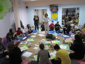 мандала медитация в студио Ананда